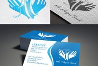 Feminin Elegant Massage Therapy Visitenkartendesign Für A Company pertaining to Massage Therapy Business Card Templates