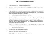 File  Chalice Oak Foundation with Fiscal Sponsorship Agreement Template