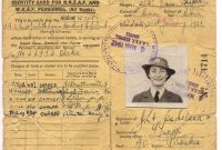 Filewaaf Rnzaf   Wikimedia Commons inside World War 2 Identity Card Template