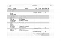 Film Budget Template Word Plan Best Templates Document with Sound Report Template