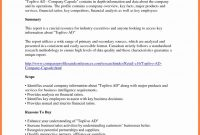 Financial Analysis Report Samples Spreadsheet Template Example with regard to Company Analysis Report Template
