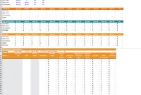 Financial Projection Template  Download Free Excel Template intended for Liquidity Report Template