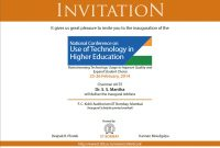 Find A Big Collection Of Example Of Invitation Card For Seminar throughout Seminar Invitation Card Template