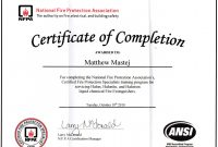 Fire Extinguisher Certificate Template Free Printable Fire For regarding Fire Extinguisher Certificate Template