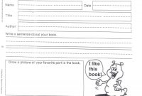First Grade Book Report College Paper Example  July in Book Report Template Grade 1