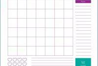 Fitness Calendar Template  Monthly Calendar Templates  Workout inside Blank Workout Schedule Template