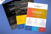 Flat Clean Corporate Business Flyer Free Psd  Psdfreebies throughout Cleaning Brochure Templates Free