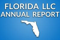 Florida Llc  Annual Report  Youtube inside Llc Annual Report Template