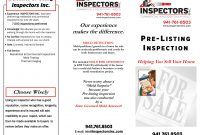 Flyers And Brochuresinspectors Inc in Thermal Imaging Report Template