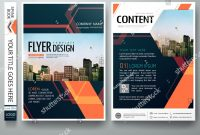 Flyers Design Template Vector Abstract Blue Cover Book Portfolio with Engineering Brochure Templates