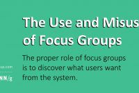 Focus Groups In Ux Research Articlejakob Nielsen throughout Focus Group Discussion Report Template