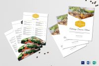 Food Catering Service Menu Design Template In Psd Word Publisher with regard to Menu Templates For Publisher