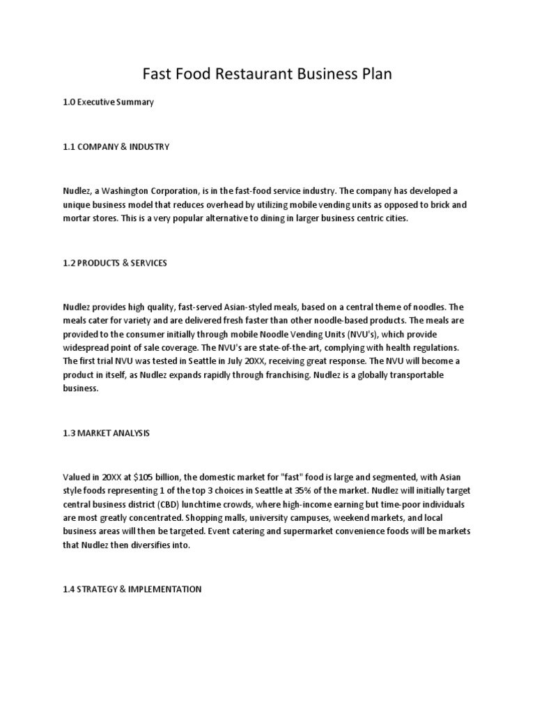 Food Delivery Business Plan Template Frightening Templates Intended For Food Delivery Business Plan Template