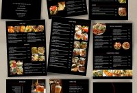 Food Menu  Id  Catalog  Food Menu Template Food Menu Design inside Asian Restaurant Menu Template
