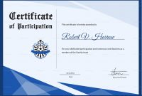 Football Award Certificate Design Template In Psd Word with regard to Football Certificate Template