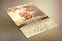 Forever Funeral Program Template within Memorial Brochure Template