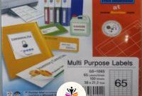 Formtec Label  Labels X Size Ftgs ليبلات \ أوراق بيضاء throughout Laser Inkjet Labels Templates