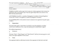 Free Agency Agreement Templates Ms Word ᐅ Template Lab regarding Negotiated Risk Agreement Template
