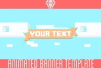 Free Animated Banner  Template  Liquiddiamondd  Youtube With Regard To Animated Banner Template