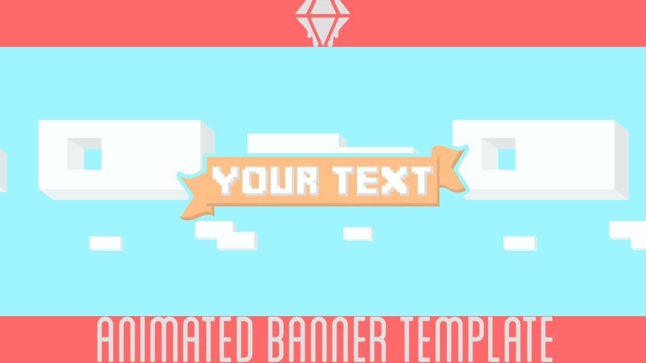 Free Animated Banner  Template  Liquiddiamondd  Youtube With Regard To Animated Banner Template