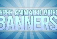 Free Animated Video Banner Template Adobe After Effects  Youtube In Animated Banner Template