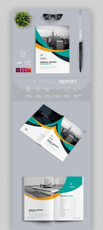 Free Annual Report Template  Meetpaulryan Within Annual Report Word Template