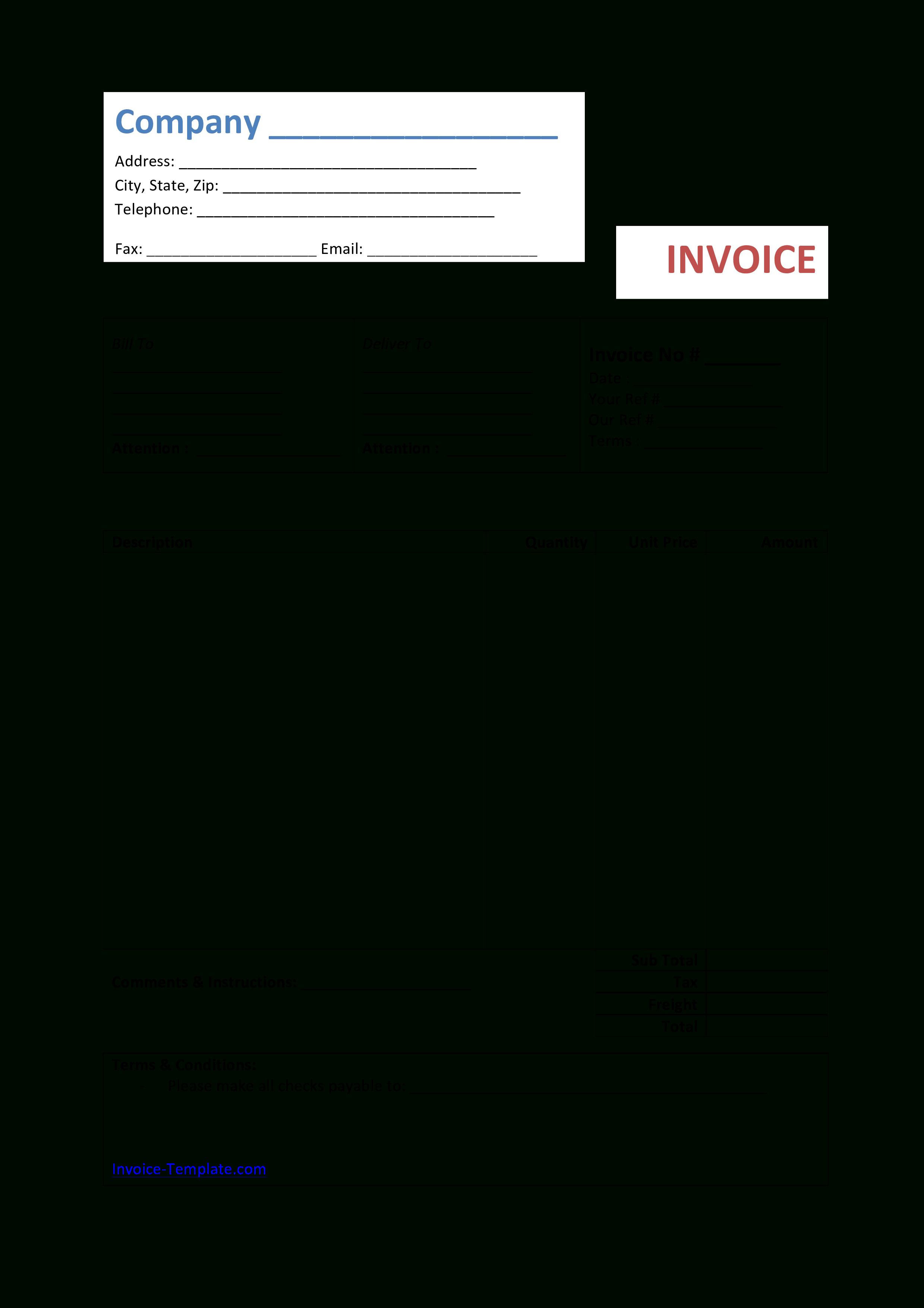 Free Bakery Invoice Template Word  Lovely Documents Ideas Awesome Intended For Bakery Invoice Template