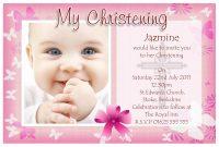 Free Baptism Invitation Templates Printable  Einladungskarten inside Baptism Invitation Card Template