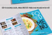Free Bifold Cafe Menu Psd Brochure –Elegantflyer intended for Bi Fold Menu Template