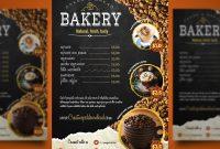 Free Bifold Restaurant Menu Templates Download – Grafikriver  Menu in Free Bakery Menu Templates Download