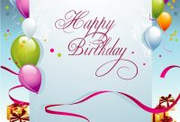 Free Birthday Card Templates ᐅ Template Lab within Free Printable Blank Greeting Card Templates