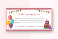 Free Birthday Gift Certificate Templates  Certificate Template regarding Track And Field Certificate Templates Free