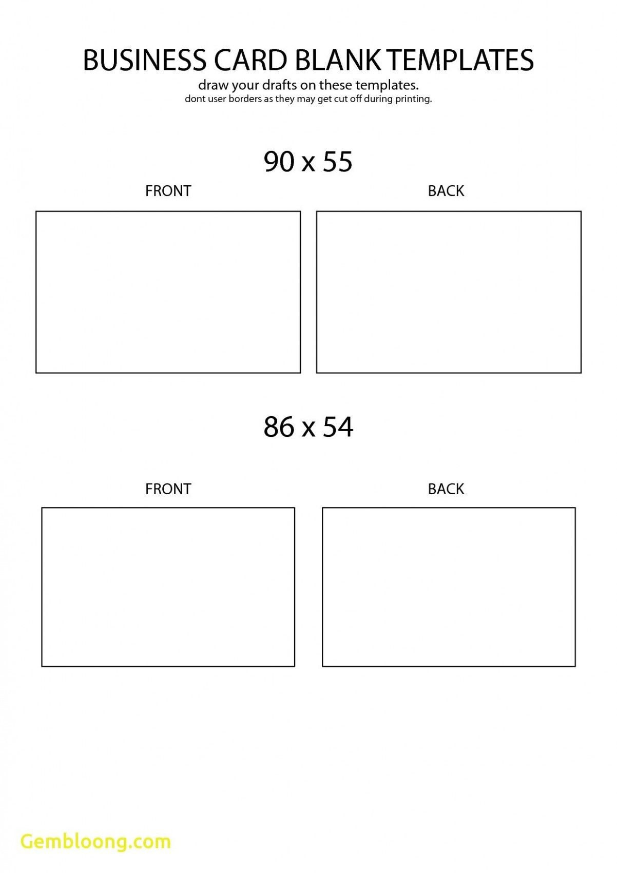 Free Blank Business Card Template Front And Back Design  Business Pertaining To Blank Business Card Template For Word