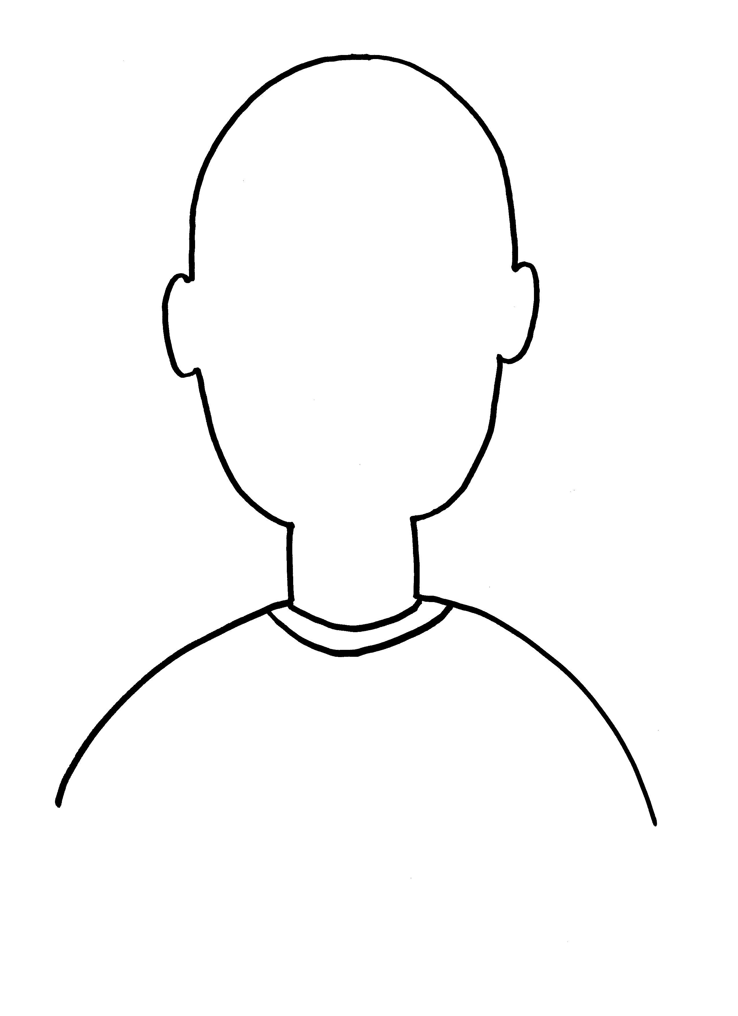Free Blank Face Template Download Free Clip Art Free Clip Art On For Blank Face Template Preschool