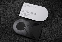 Free Bold And Creative Black And White Business Card Template  Ck with regard to Black And White Business Cards Templates Free