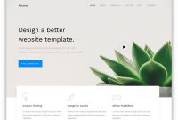 Free Bootstrap Business Templates To Create A Signature Website intended for Small Business Website Templates Free