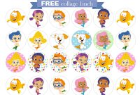 Free Bubble Guppies Printable Invitations intended for Bubble Guppies Birthday Banner Template