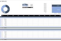 Free Budget Templates In Excel  Smartsheet regarding Annual Budget Report Template
