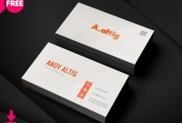 Free Business Card Psd Templates regarding Freelance Business Card Template