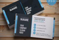 Free Business Card Templates Psd  Download Psd with regard to Psd Visiting Card Templates