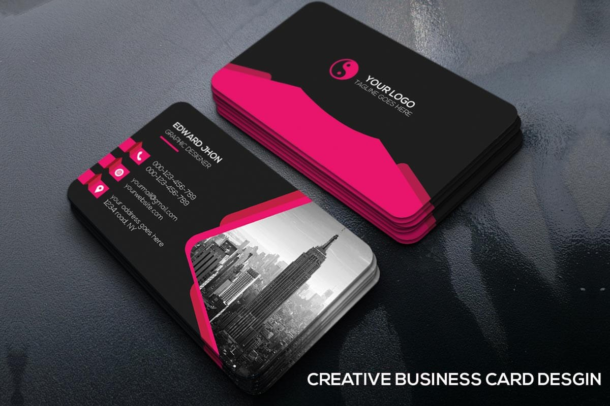 Free Business Cards Psd Templates  Creativetacos For Free Bussiness Card Template