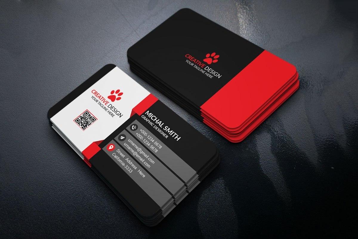 Free Business Cards Psd Templates  Creativetacos Throughout Psd Visiting Card Templates