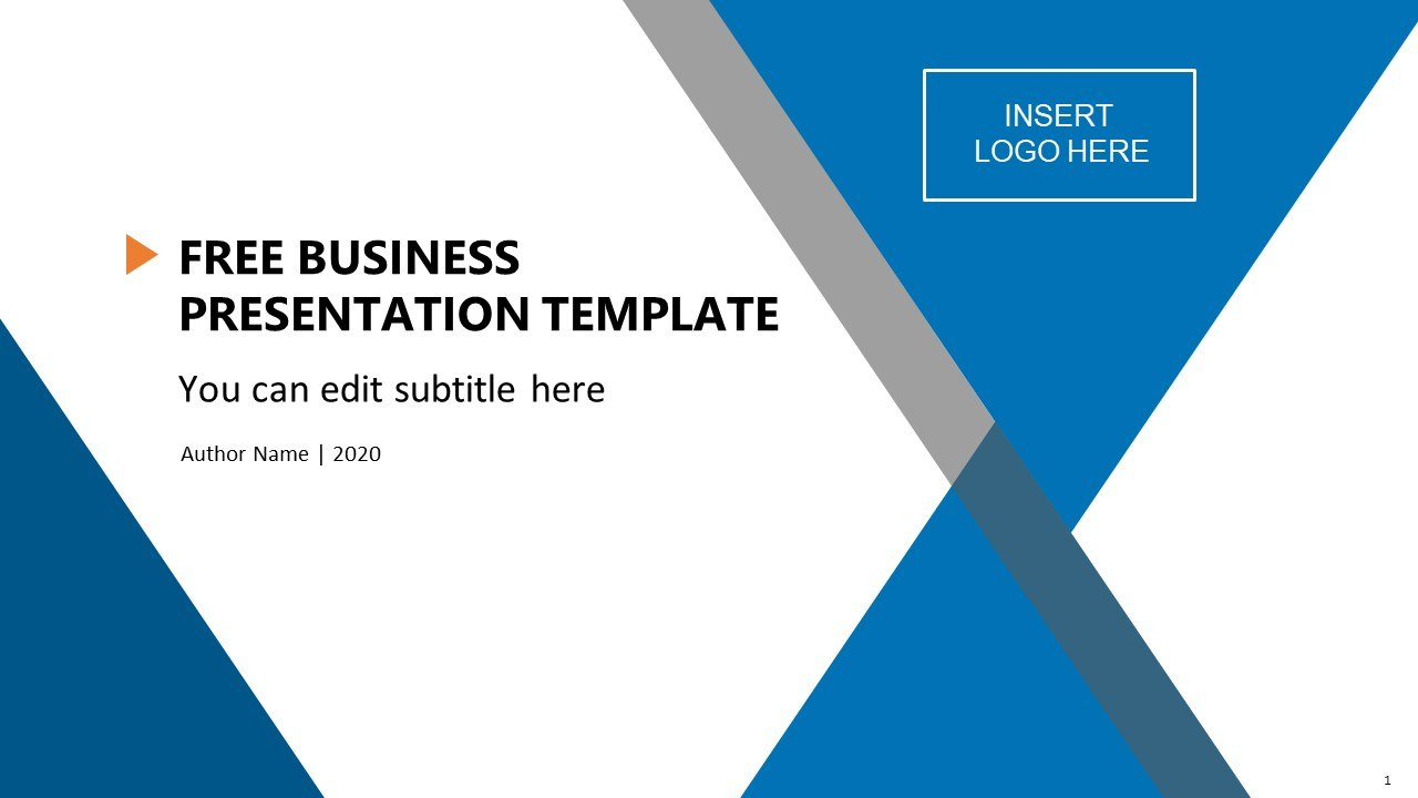Free Business Presentation Template  Slidemodel Inside Free Download Powerpoint Templates For Business Presentation