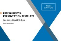 Free Business Presentation Template  Slidemodel within Ppt Templates For Business Presentation Free Download