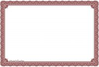 Free Certificate Borders To Download Certificate Templates For inside Free Printable Certificate Border Templates