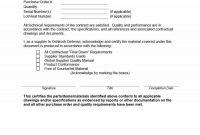 Free Certificate Of Conformance Templates  Forms ᐅ Template Lab in Certificate Of Conformance Template
