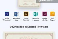 Free Certificate Of Destruction  Certificate Templates  Designs throughout Free Certificate Of Destruction Template