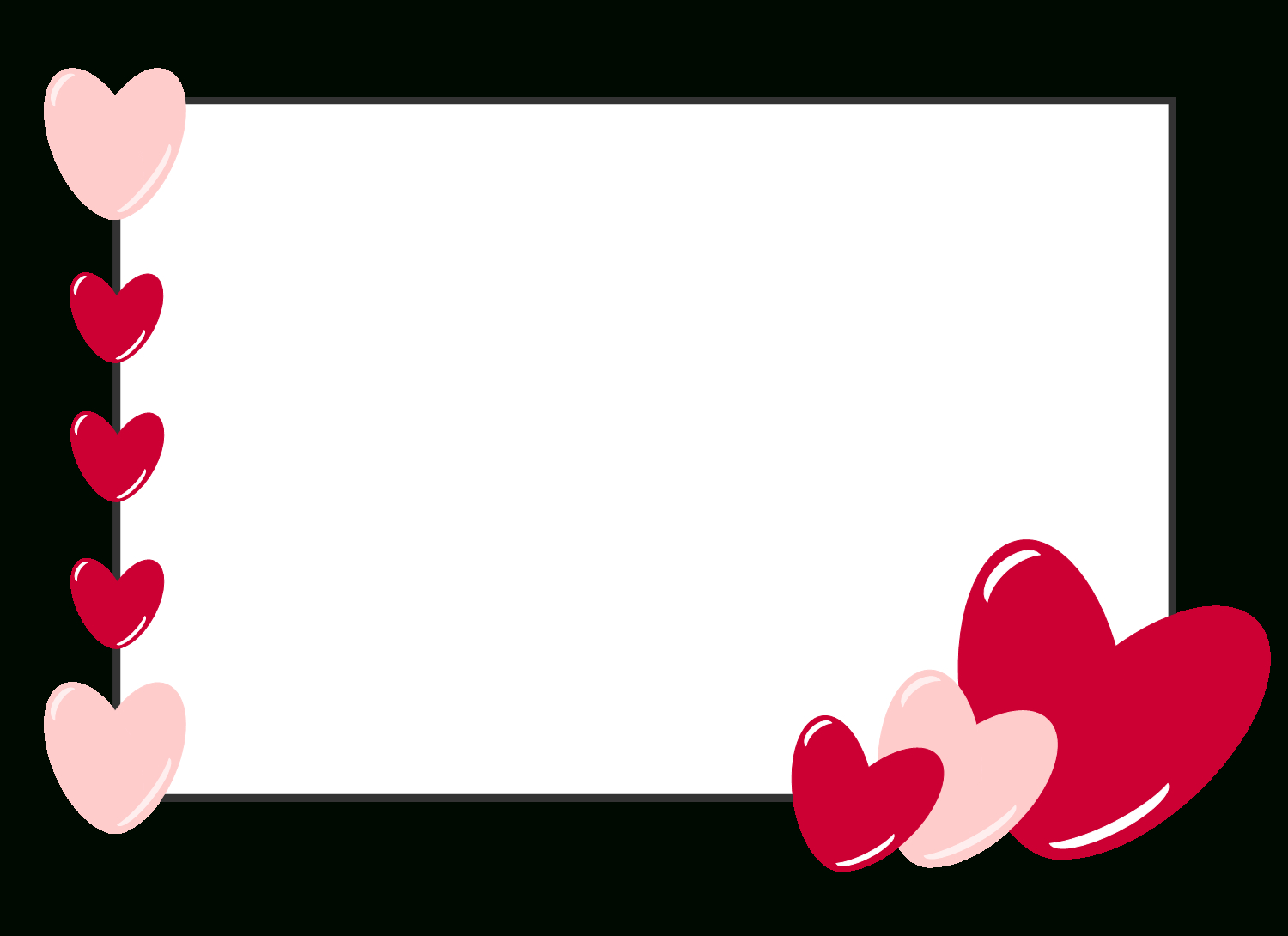 Free Clipart N Images Free Valentine Card Template  Valentines Day With Valentine Card Template For Kids