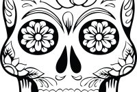 Free Clipart Of A Sugar Skull  Printables Downloads Templates intended for Blank Sugar Skull Template