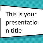 Free Comic Book Powerpoint Template  Superhero Ppt Design for Powerpoint Comic Template